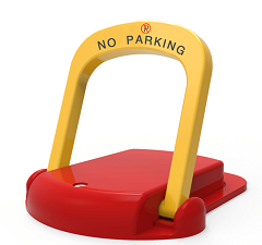 Bluetooth automatic App controlled parking lock parking space barrier