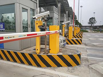 Parking Barrier for Guangzhou Baiyun Airport