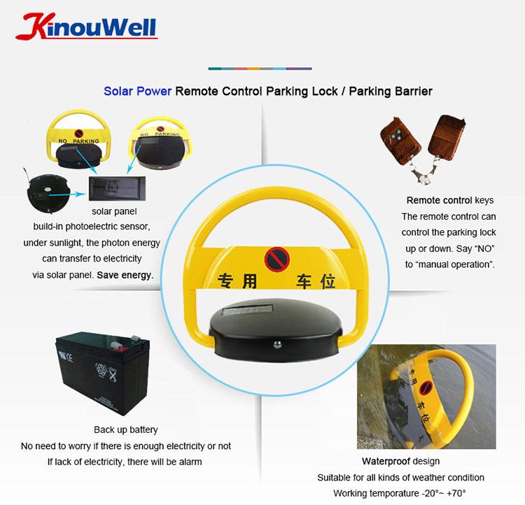 Solar Parking Space Blocker
