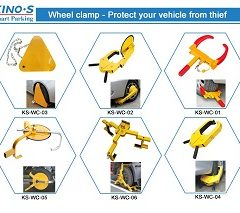 Top Sale Wheel Clamps from Kinouwell Smart Parking Manufacturer