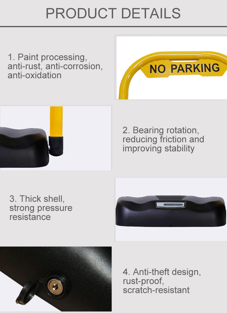 remote car parking lock