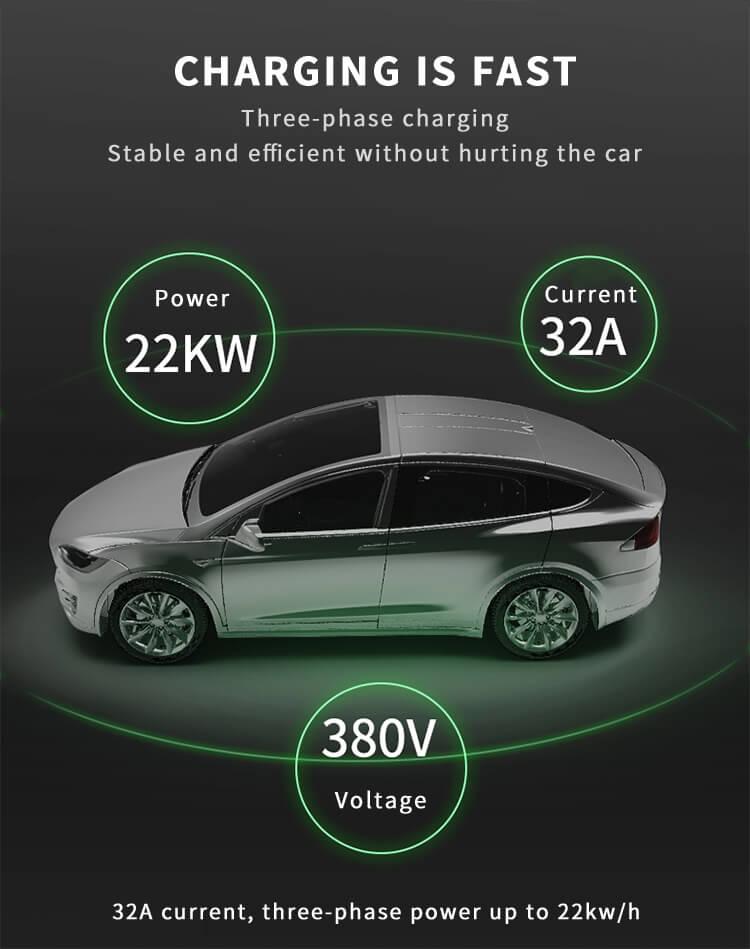 EV Charger Station for Tesla