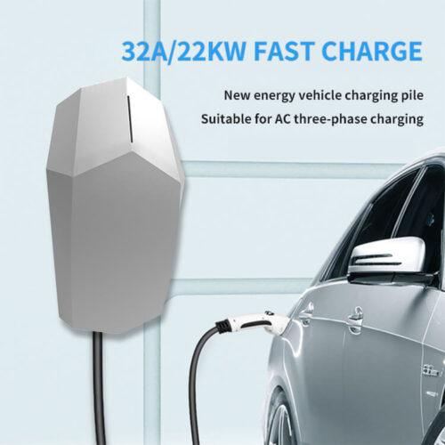 22KW AC 3 Phase EV Charger Station for Tesla (4)
