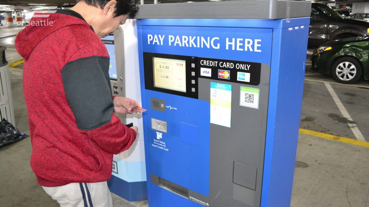 Colma Bart parking payment machines