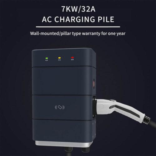 C0168 7KW 32A EV Charging Station (2)