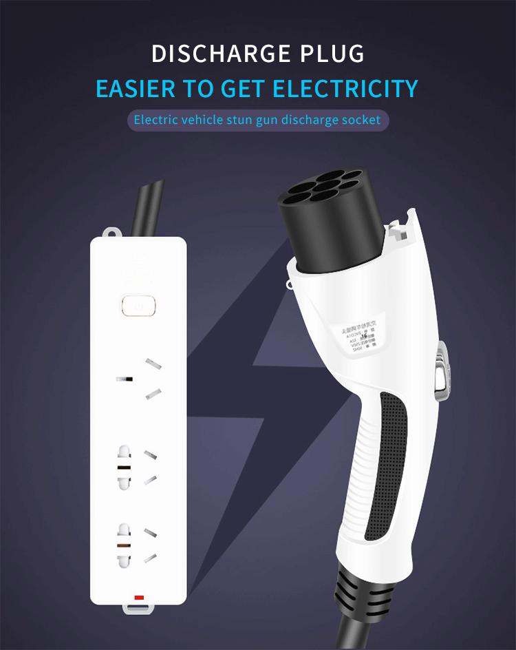 KW-C0137 Portable EV Conversion Charging Plug Socket (1)