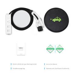 KW-C0137 Portable EV Conversion Charging Plug Socket (3)