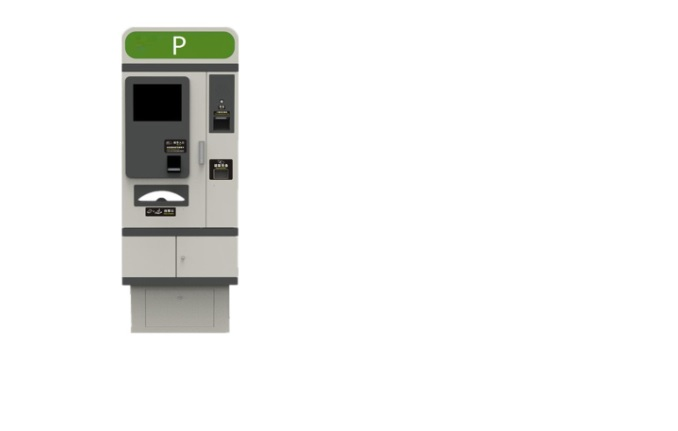 automated parking payment machine