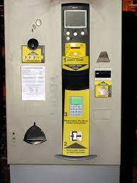 car parking payment machines