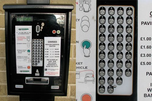 How Parking Ticket Payment Machine Teaches Usability