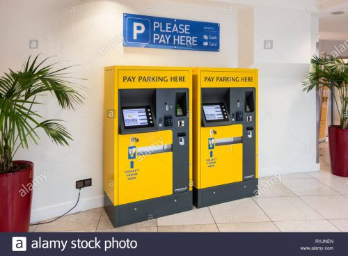 Paying for Parking Tickets is Easy with Parking Lot Payment Machine App