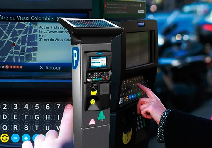parking payment machines keep track