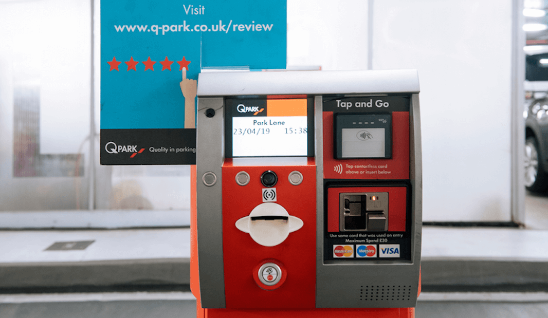 parking payment machine for sale