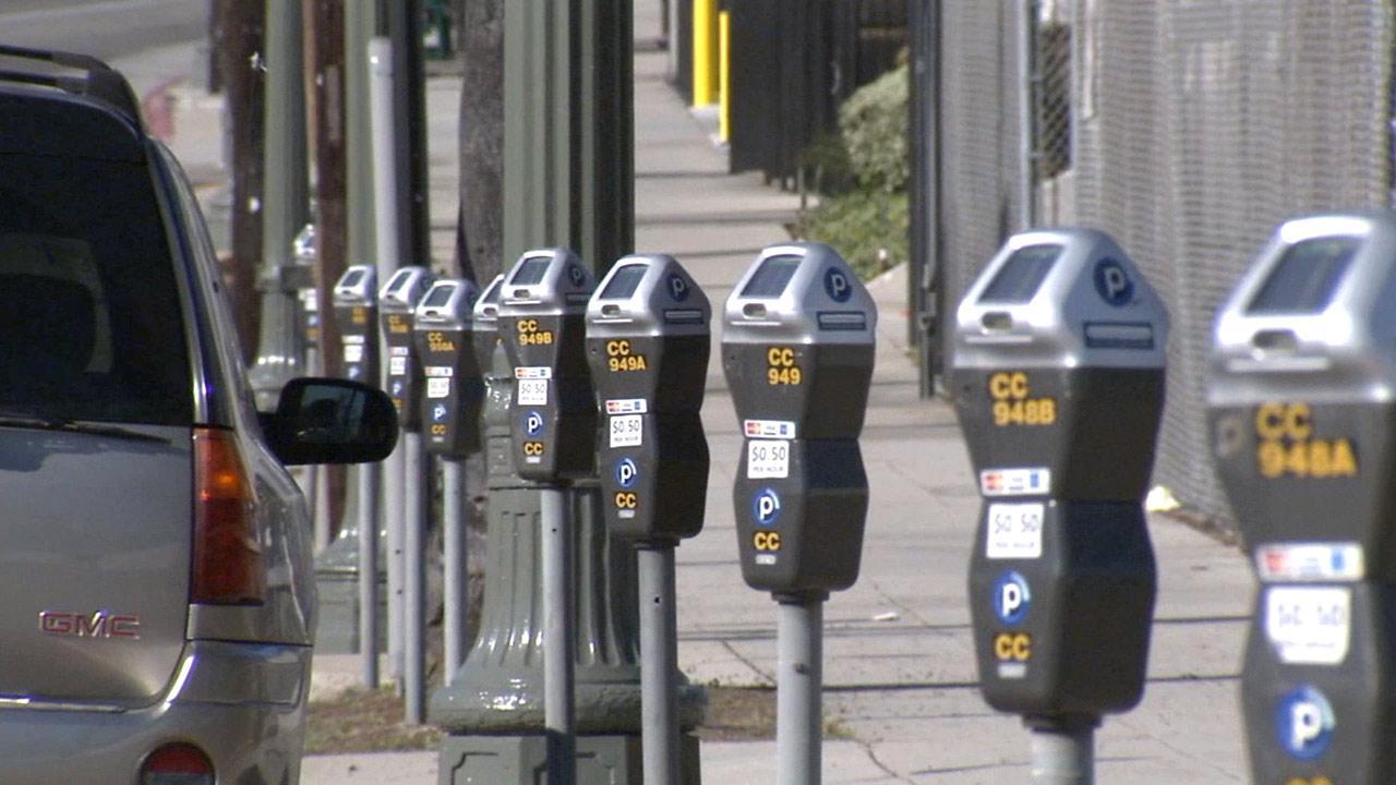 Seattle meter parking