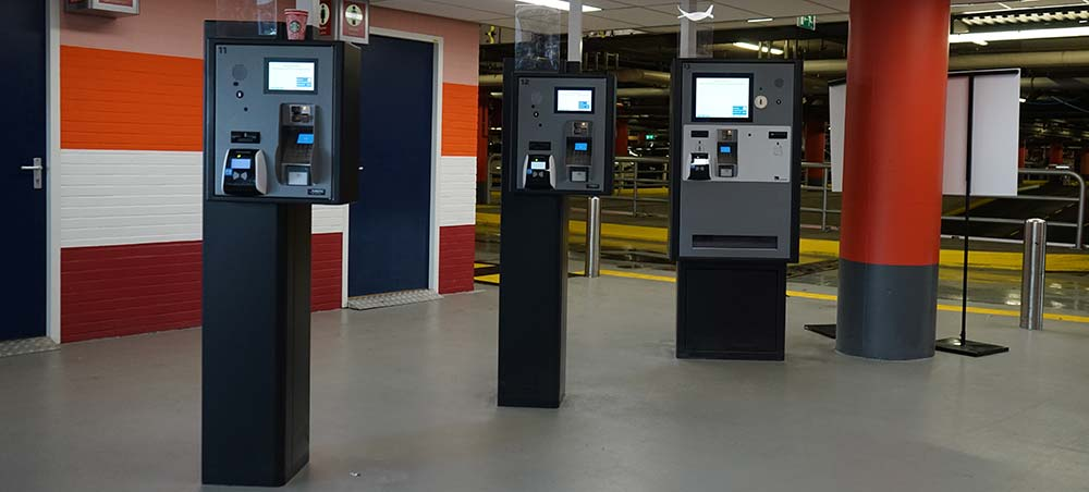 parking payment machine cost