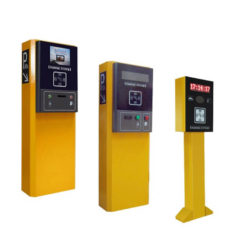 parking lot automated payment machine