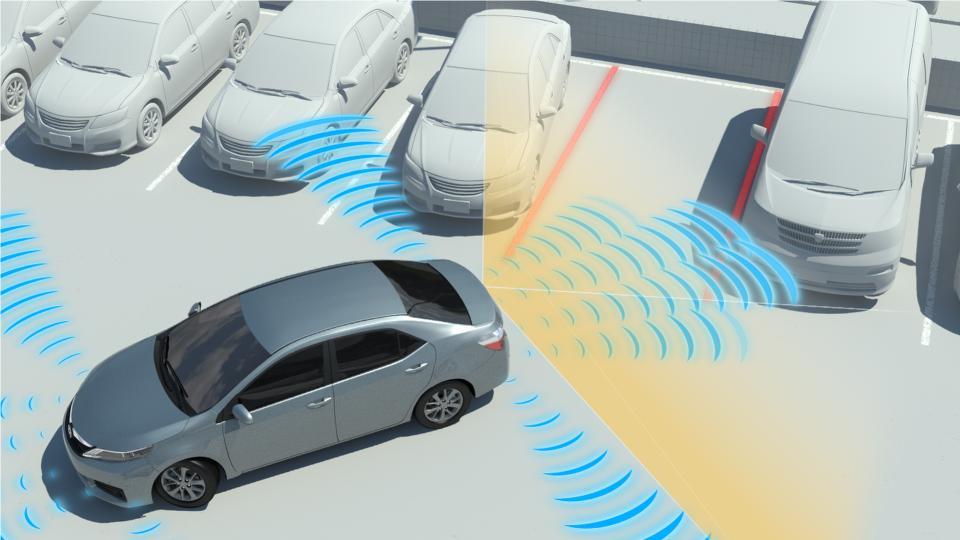 front parking sensor wireless