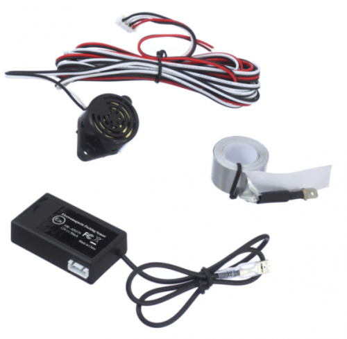 Working of the Parking Sensor System