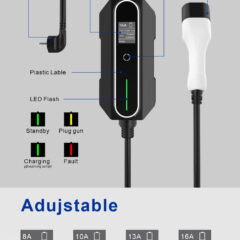 portable ev charger for electric car
